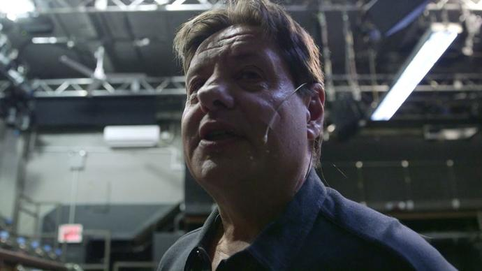 close-up shot of Greg Mehrten