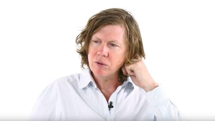 thurston moore in a white shirt