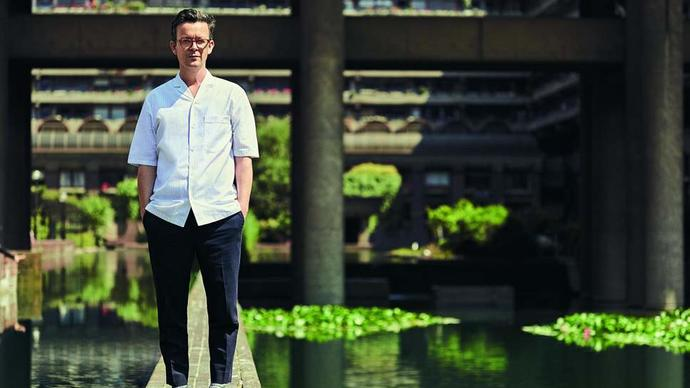 photo of enda walsh at the barbican