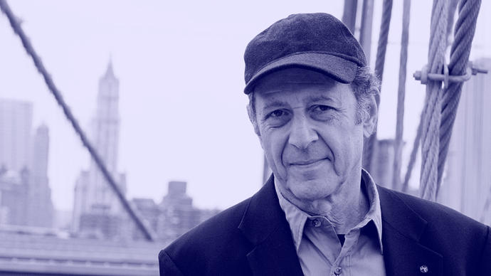 a photo of steve reich somewhere in new york