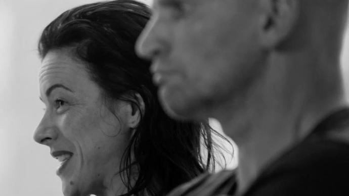 irish performers camille o'sullivan and patrick o'kane talk about their new production woyzeck in winter which features schubert's winterreise in a black and white video at the barbican centre