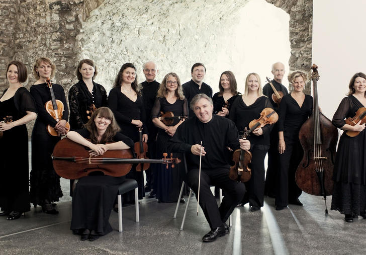 Photo of musicians from Academy of Ancient Music