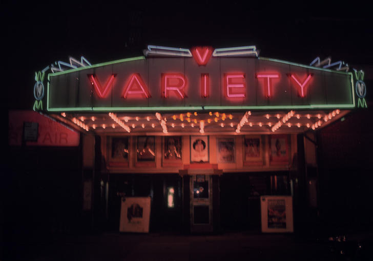 Variety theater in Bette Gordon's Variety