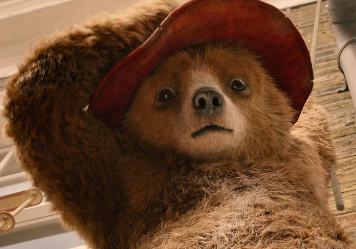 A still from Paddington 2, the second cinematic adventure of your favourite Peruvian bear