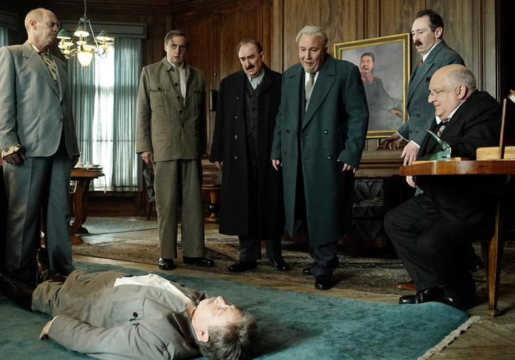 A still from Armando Iannucci's satire The Death of Stalin