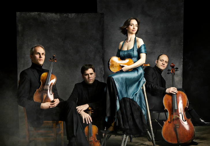 Casals Quartet 2018 sitting