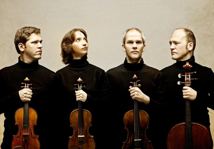 Casals Quartet 2018 group in black