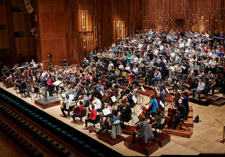 Guildhall Symphony Orchestra in the Barbican Hall