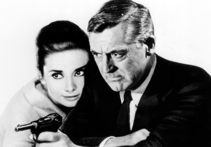 Cary Grant and Audrey Hepburn star in Charade