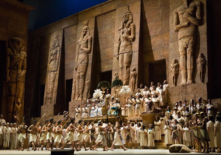 From Met Opera's Aida
