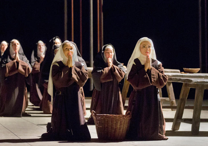 From the Metropolitan Opera's production of Dialogues des Carmélites