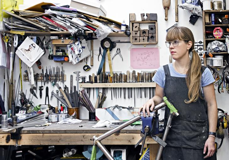 Caren Hartley of Hartley Cycles for On Bike Building: A Panel Discussion