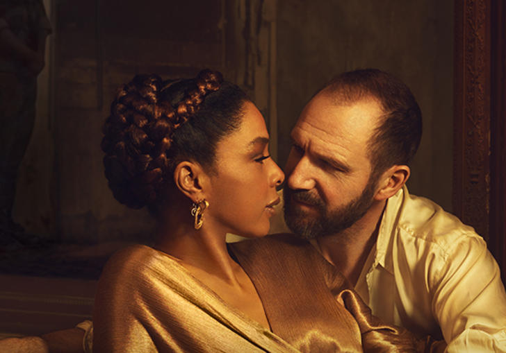 Ralph Fiennes and Sophie Okonedo star as ill-fated lovers