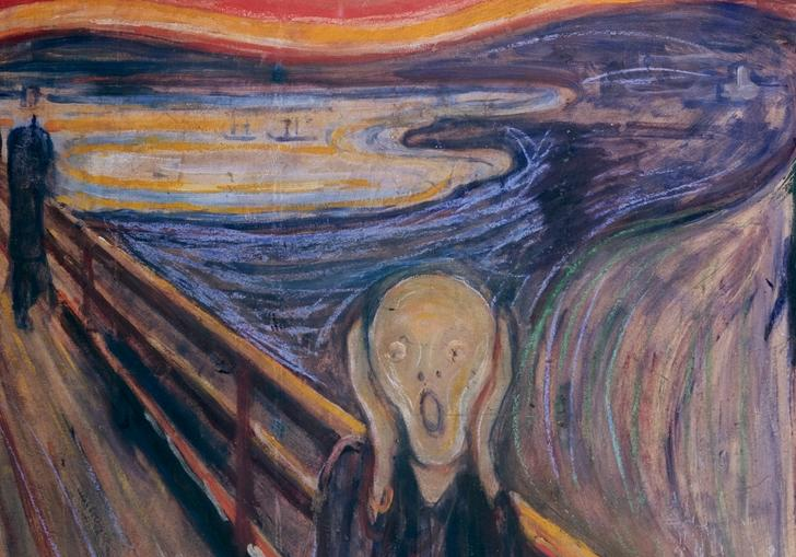 Munch, The Scream 1893