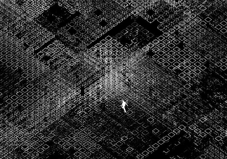 Behind a Facade of Order artwork