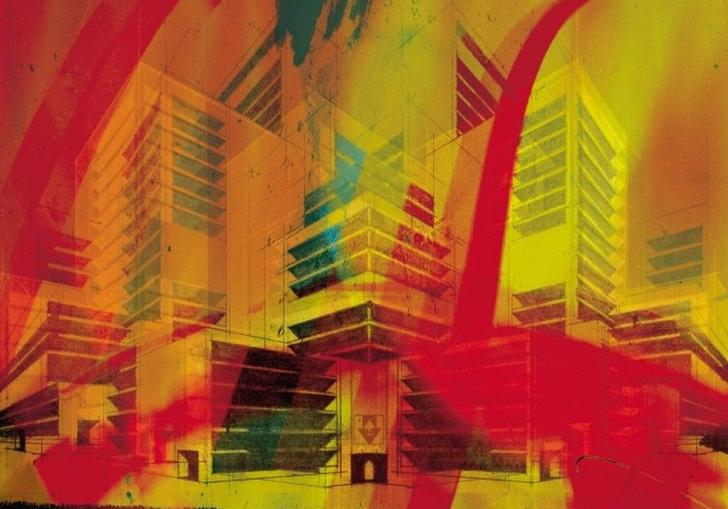 Image of High Rise Book by JG Ballard for Web part of Make the new brutal ballard book club