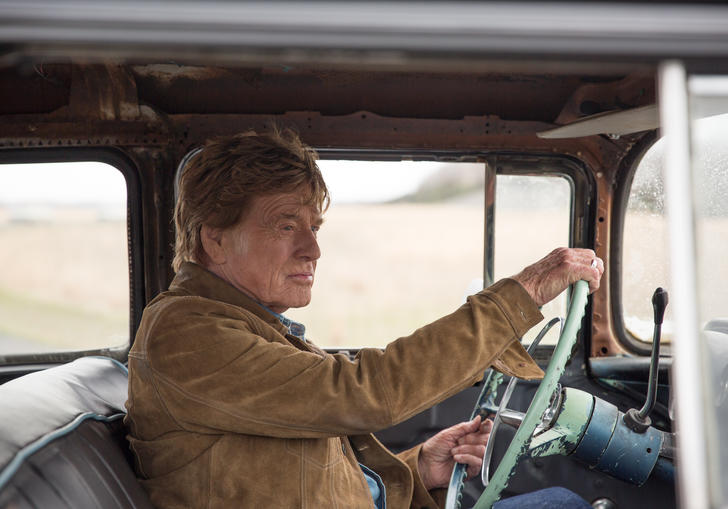 robert redford driving a car