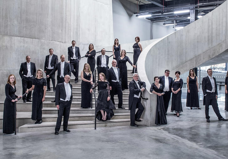 BBC Singers 2020 group image
