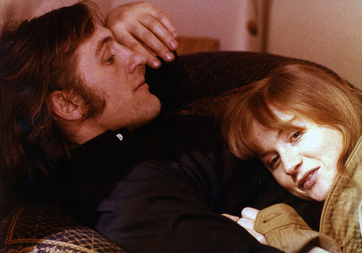 Gérard Depardieu and Isabelle Huppert