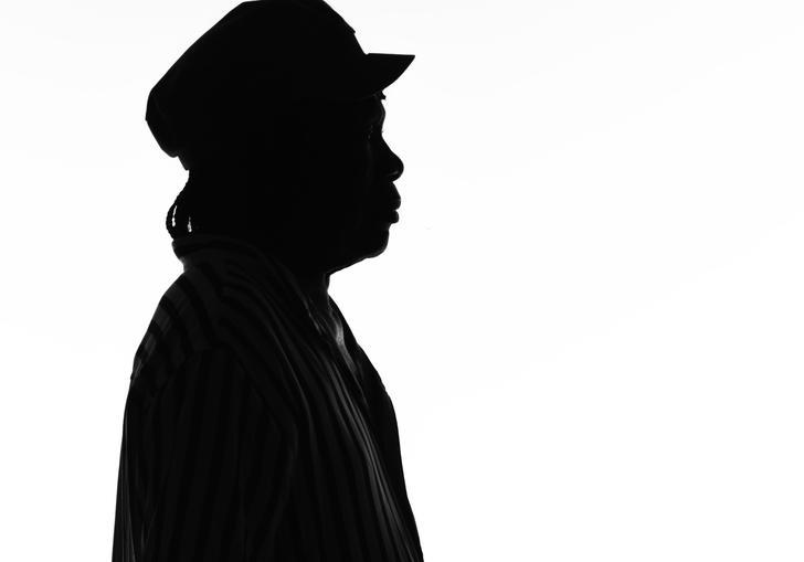 Artwork of Milton Nascimento's sillhouette