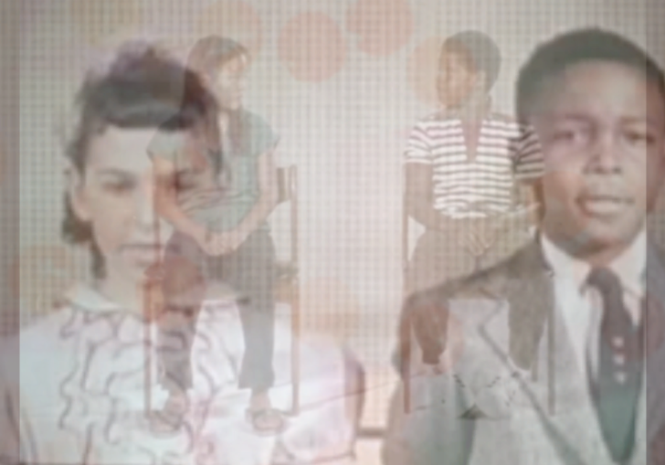 Shot of two young people
