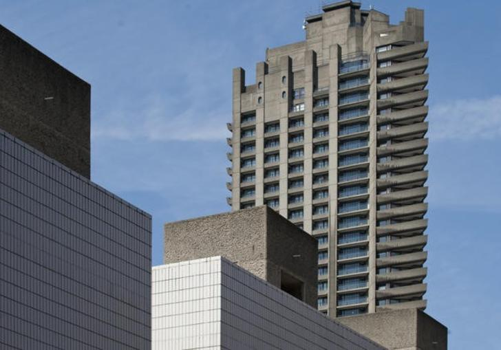 the barbican's architecture