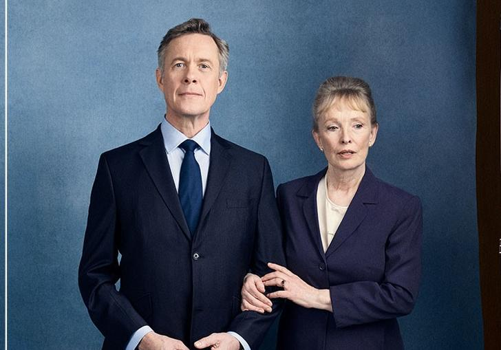 Alex Jennings and Lindsay Duncan