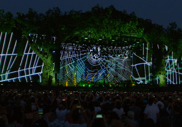 the cure stage in hyde park