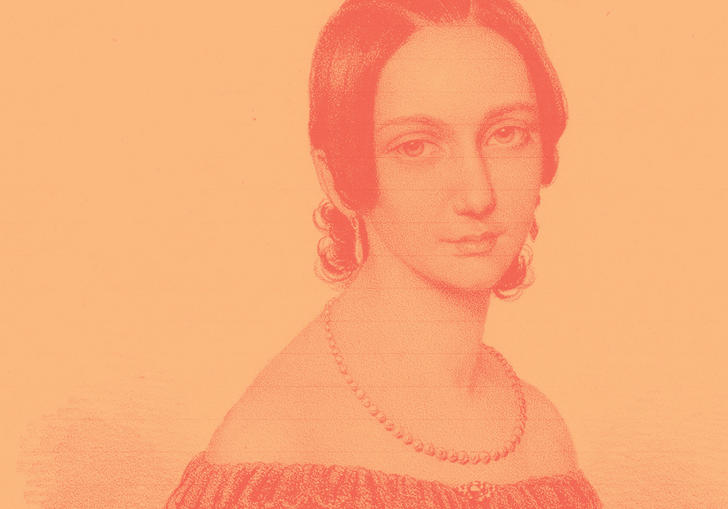 Painting of Clara Schumann