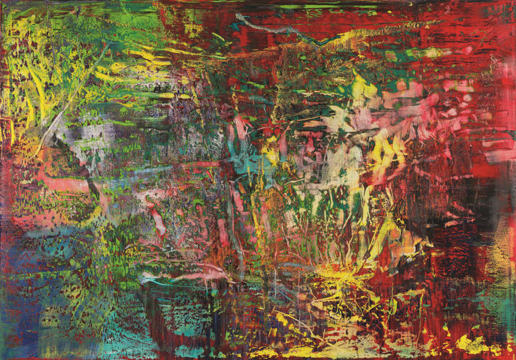 Abstract painting 946-3 by Gerhard Richter