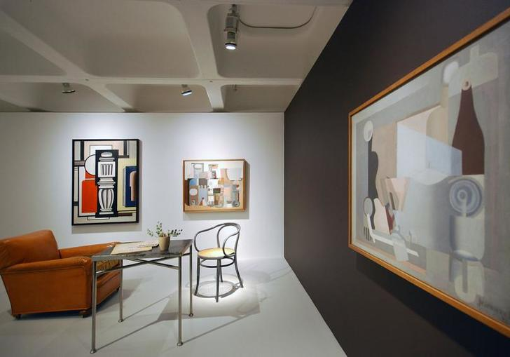 Installation view of Le Corbusier