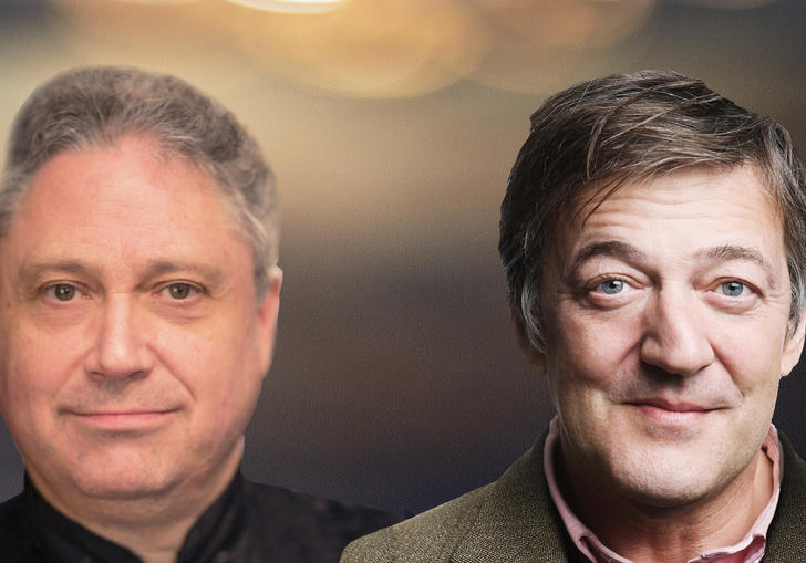 Richard Egarr and Stephen Fry