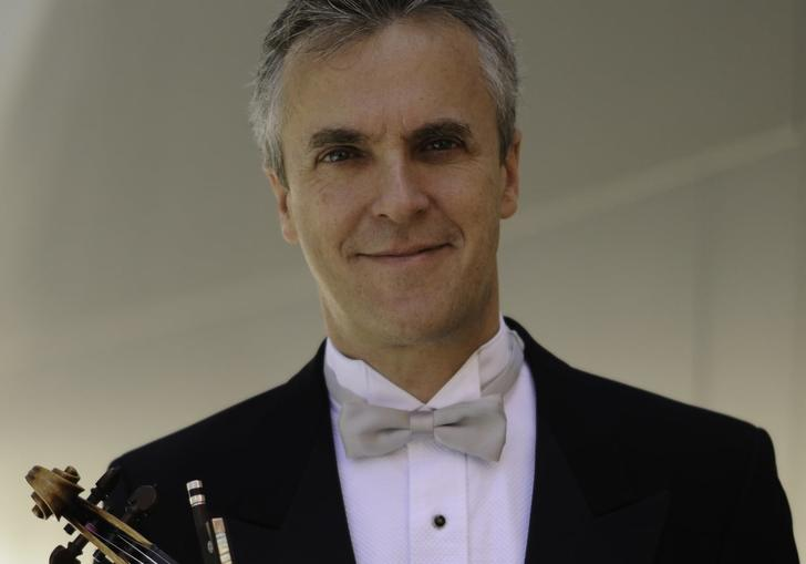 Martin Chalifour with violin