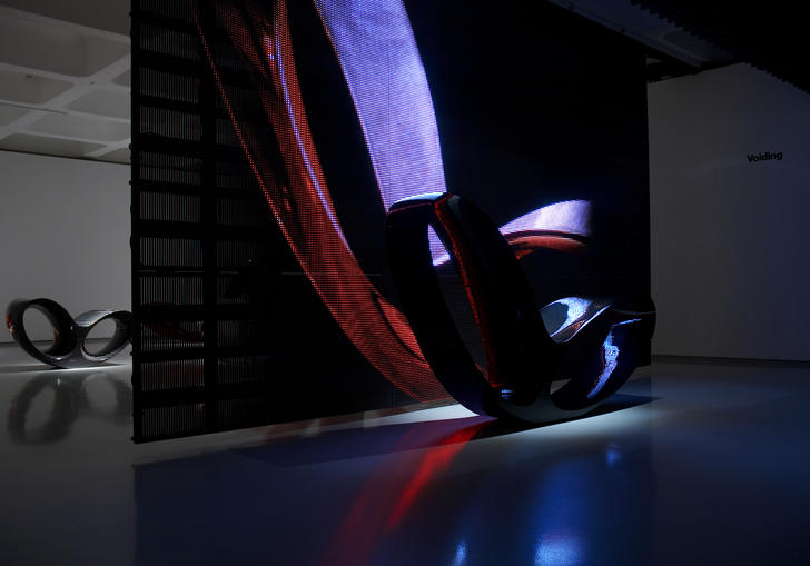 Installation view of Ron Arad
