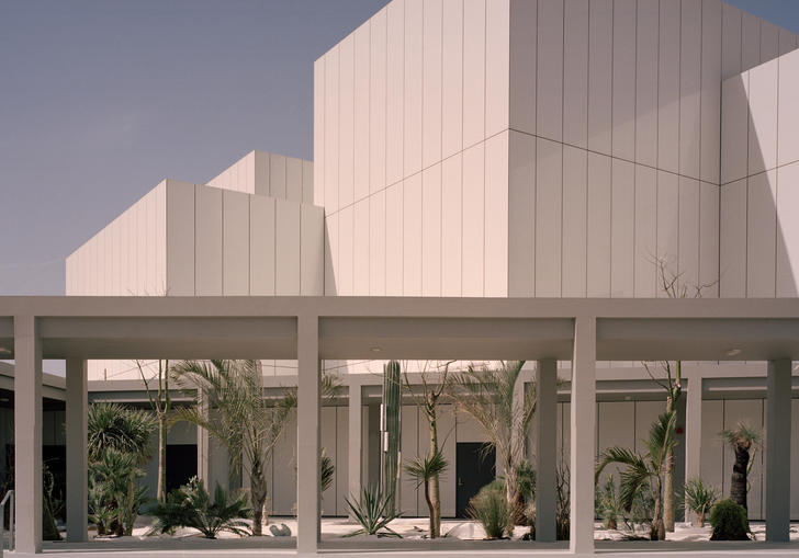A photo of Jameel Arts Centre in Dubai, designed by Serie Architects