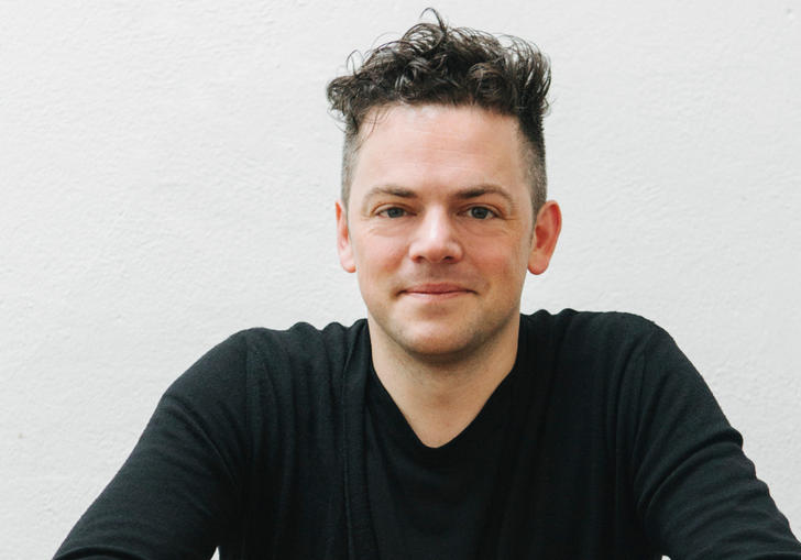 A portrait of Nico Muhly