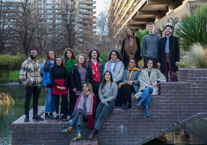 image of the 2020 barbican young programmers