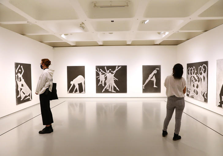 An image of the Michael Clark exhibition