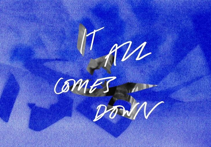 It All Comes Down text logo