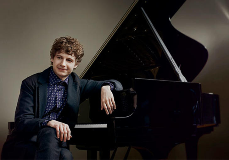 A photo of pianist, Pavel Kolesnikov