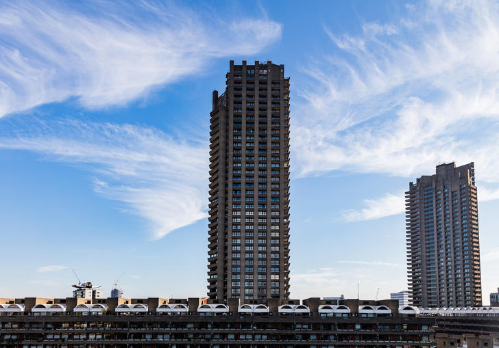Photo of the Barbican Estate