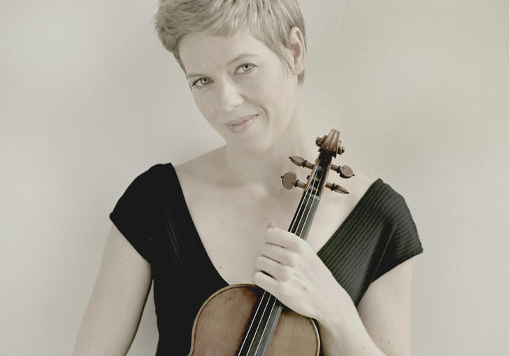 Isabelle Faust, violinist