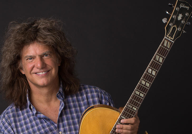 Pat Metheny and his beloved guitar