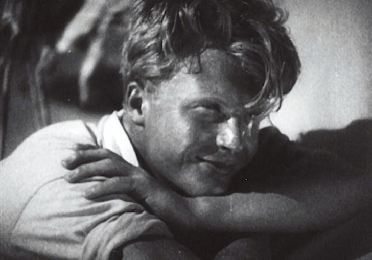 A still from A Severe Young Man