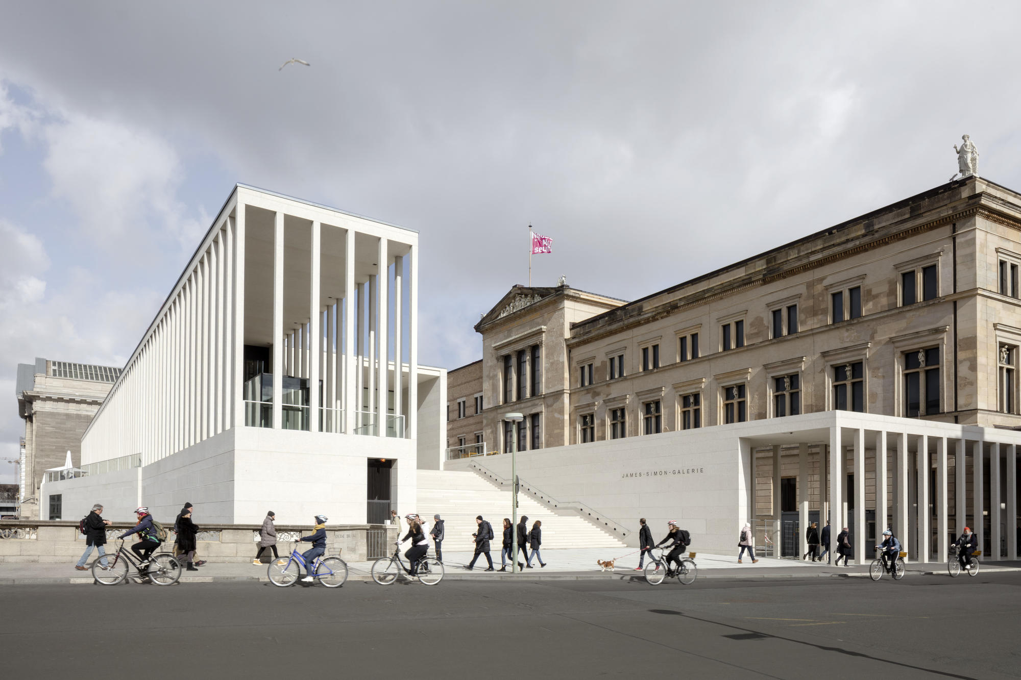 Neues Museum, 1993–2009. Photo credit, David Chipperfield Architects