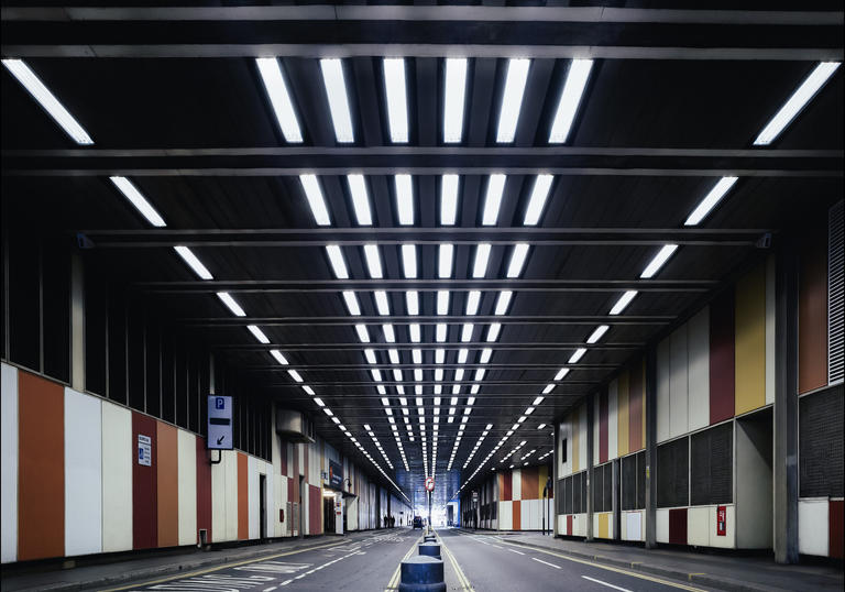 Photo of Beech Street tunnel near Barbican Centre