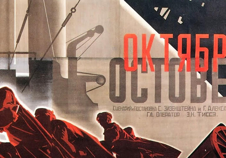 Sergei Eisenstein's October