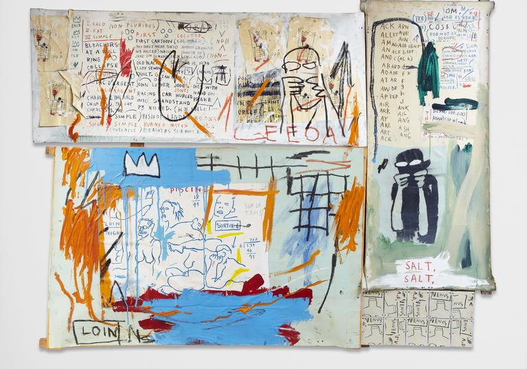 Painting by Jean Michel Basquiat