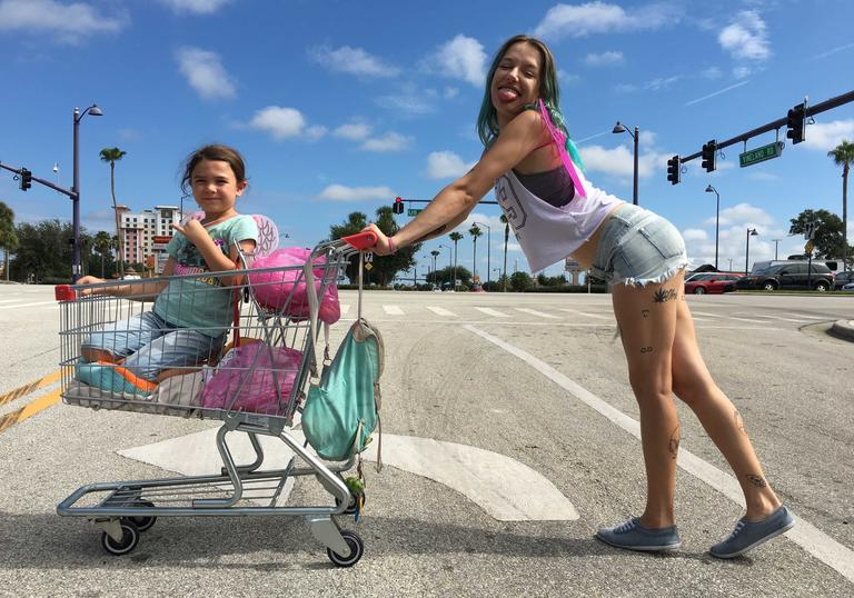 A still from Sean Baker's The Florida Project