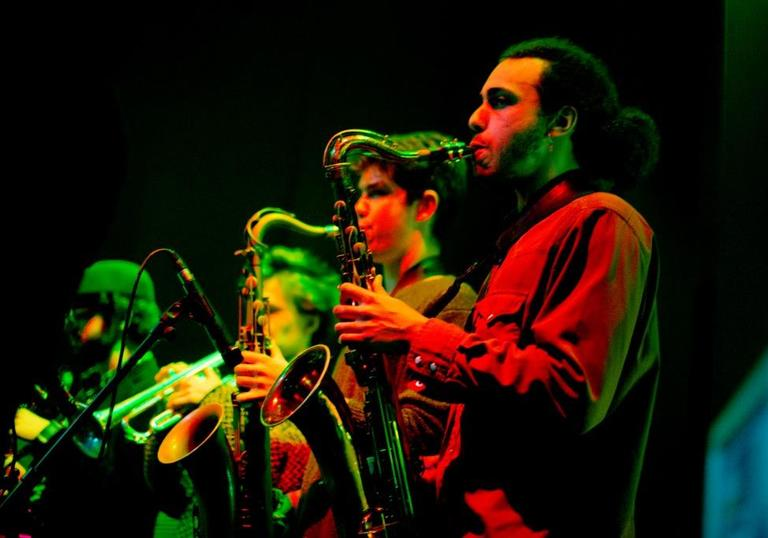 Photo of Young Big Jazz Band performing